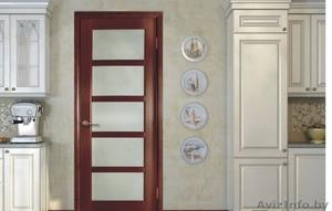 Межкомнатные двери из евро бруса массива и эко шпона  - Изображение #1, Объявление #1543791