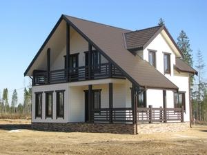 Производство и строительство каркасных домов. Орша - Изображение #1, Объявление #1685635
