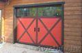 Подъемные гаражные ворота из сэндвич панелей