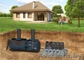 Установка септика и канализации для частного дома